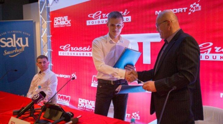 2013. aasta detsembrikuu tähistas Ott Tänaku teist tulemist. Oleg Gross toetas teda veidi üle 100000 euroga.