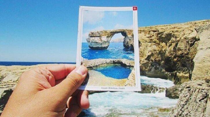 """Новая жизнь рухнувшего """"Лазурного окна"""" на Мальте"""