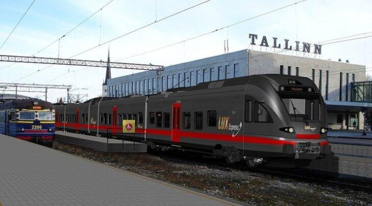 Lux Express hangib raudteeärisse sisenemiseks kaks luksusrongi