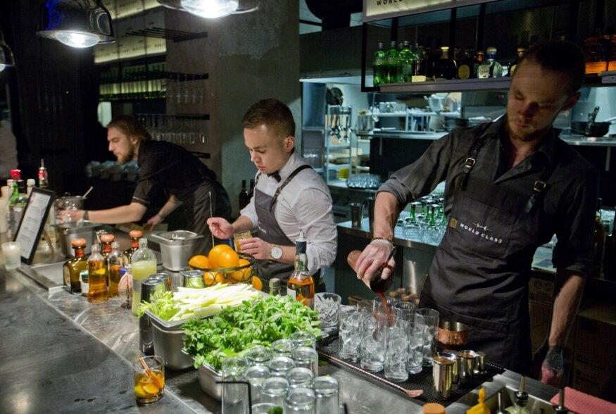 FOTOD: Valiti välja kümme Eesti baarmeni osalema maailmakuulsal World Class kokteilivõistlusel
