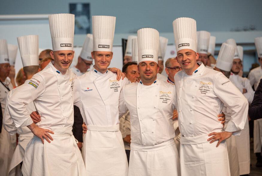 OTSEÜLEKANNE | Eesti võistkond serveerib kokkade olümpial Bocuse d'Or oma roogi