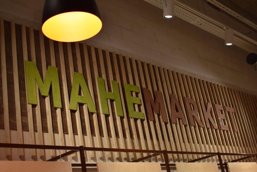 Mahemarket avas Tallinnas uue poe koos maheliha karniga