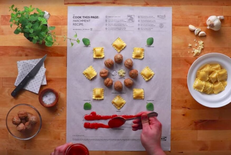FOTOD | IKEA retseptipostrid lähenevad toidule nagu firma mööblimanuaalid: kolm liigutust ja toit on valmis!