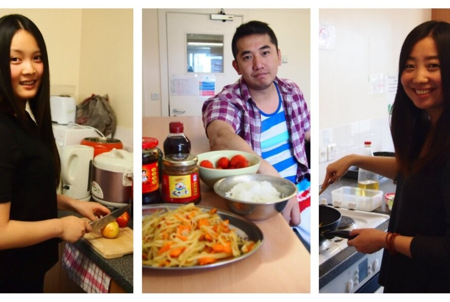 Välismaal elamine õpetab Hiina tudengeid süüa valmistama