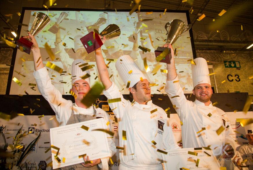 GALERII: Kokkade olümpiale läheb Eestist Dmitri Rooz