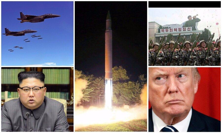 Трамп вответ наугрозы ракетного удара пообещал КНДР недолгое существование