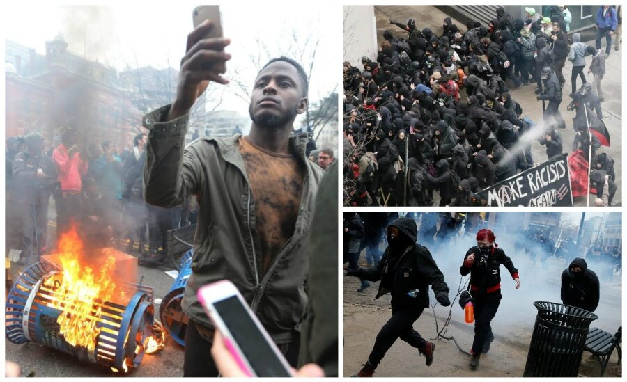 Число задержанных участников беспорядков вВашингтоне превысило 200