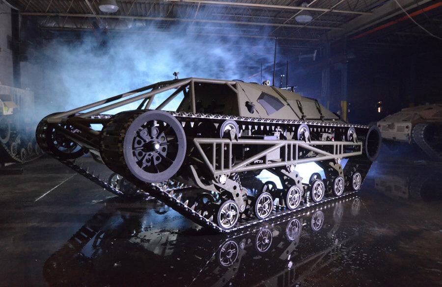 """Conceito do veículo militar do Irã """"Fallagh"""" nasceu """"Ripsaw"""" nos EUA"""