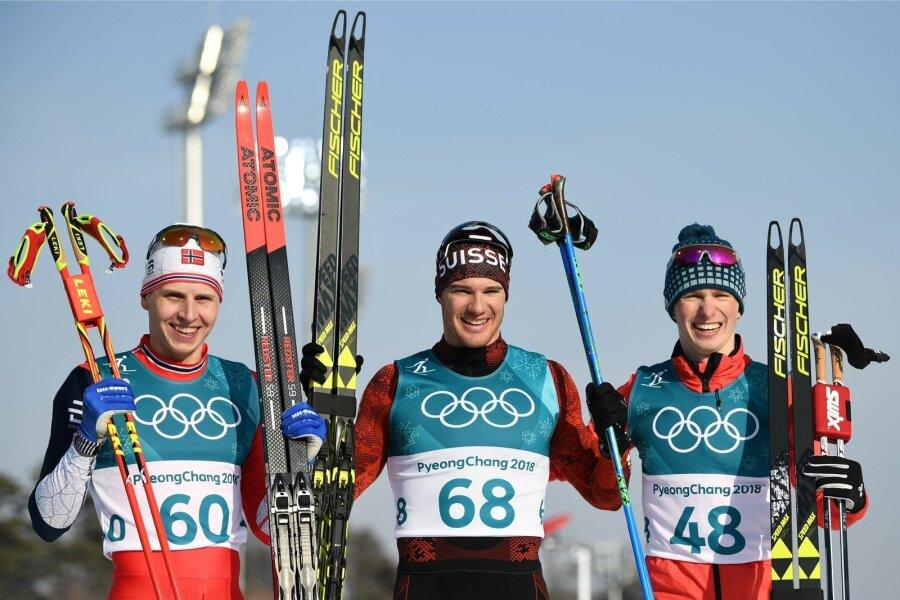 Лыжник Спицов завоевал бронзу в особой гонке Олимпиады