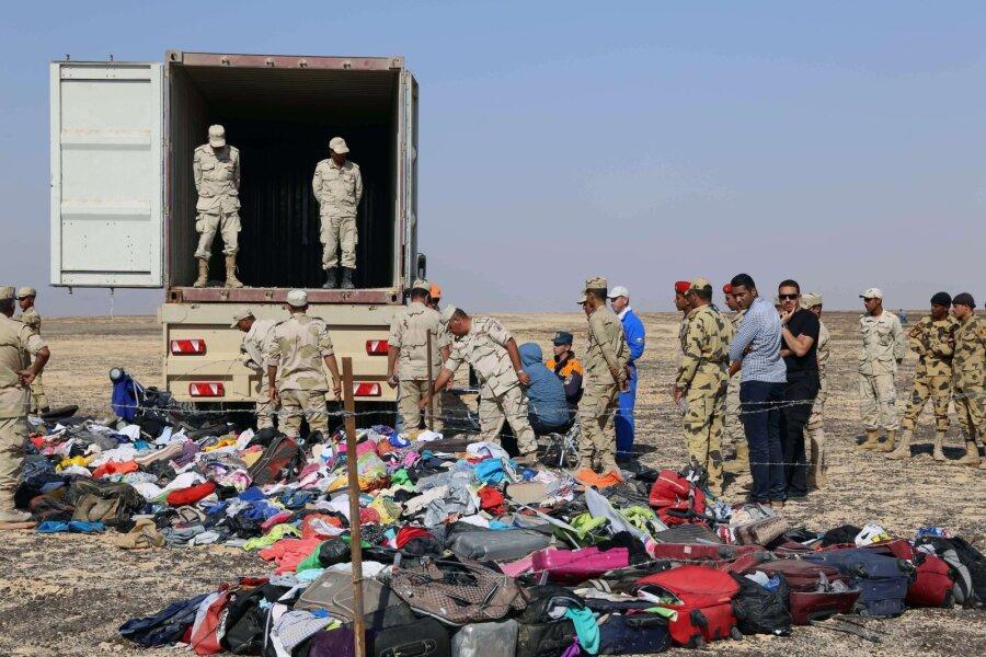 Специалисты установили, куда террористы заложили бомбу всамолете, рухнувшем наСинае
