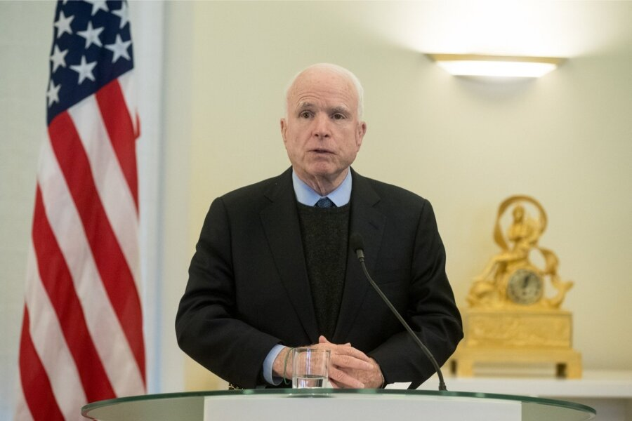 Стала известна дата визита в государство Украину сенаторов Маккейна иГрэма