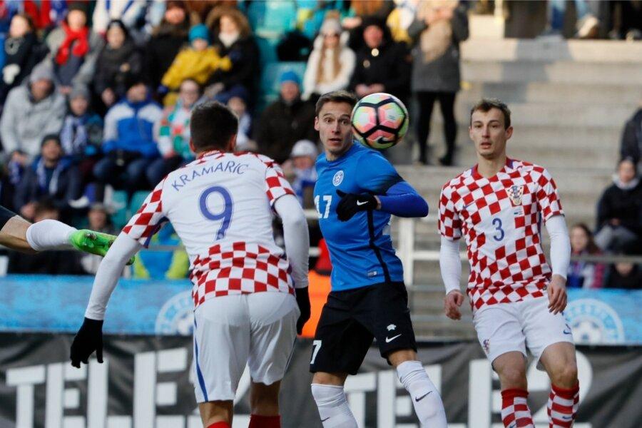 Эстония вТаллине наЛеКоке унизила Хорватию