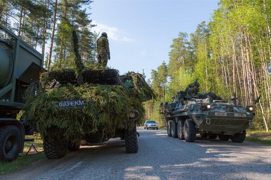 Международный батальон НАТО прибудет вЛатвию, когда растает снег