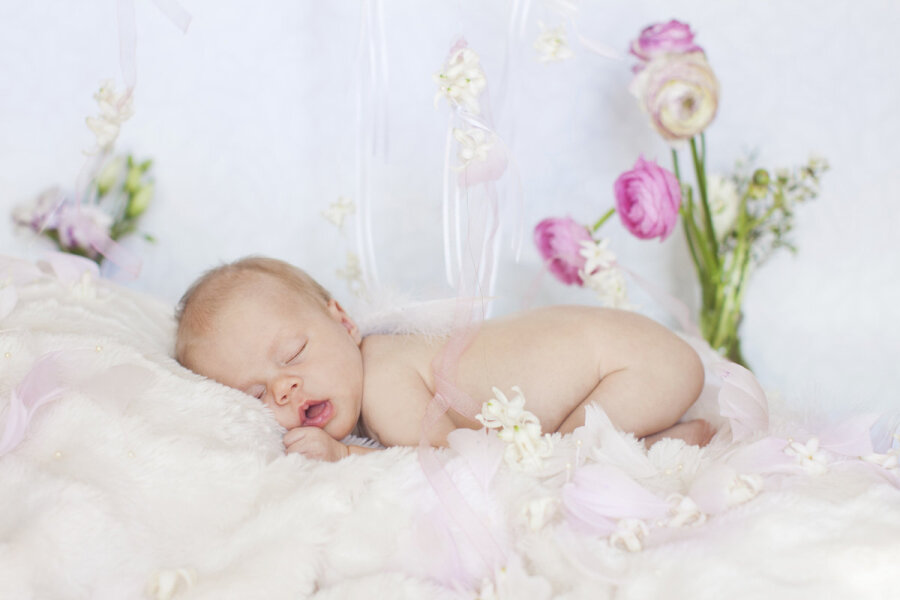 первое фото малыша