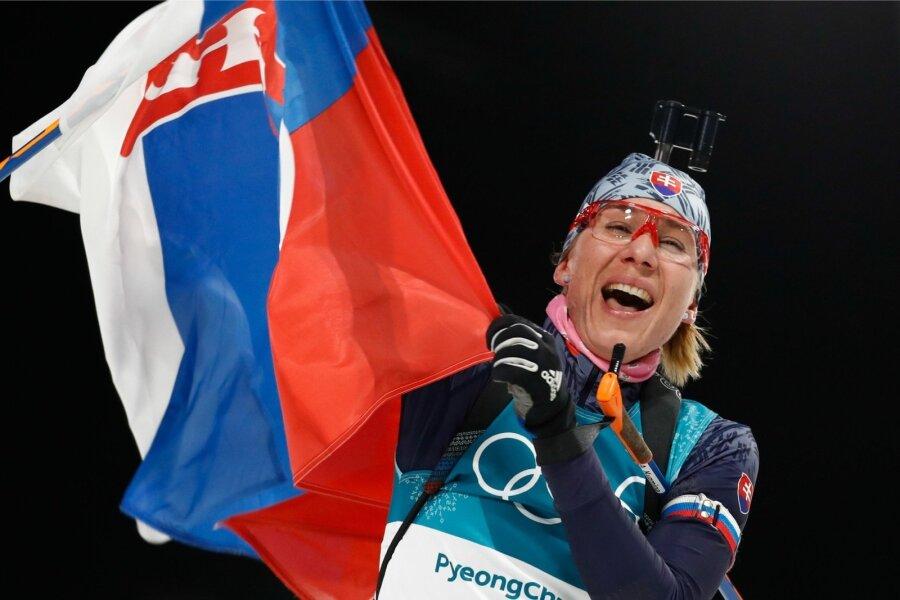 Кузьмина выиграла спринт наэтапе Кубка мира побиатлону, Юрлова— седьмая