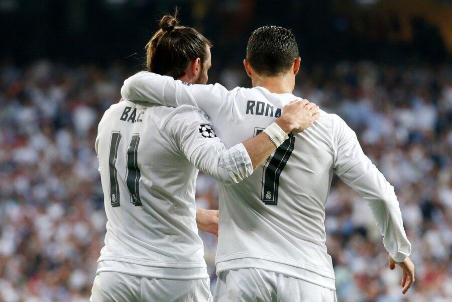 Gareth Bale ja Cristiano Ronaldo