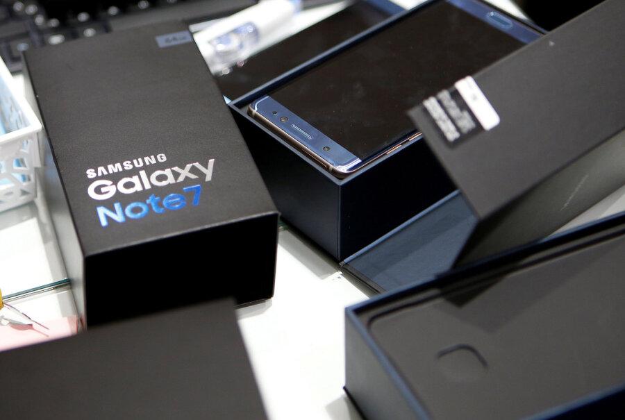 Самсунг отыскал новое применение для «взрывоопасных» моделей Galaxy Note 7