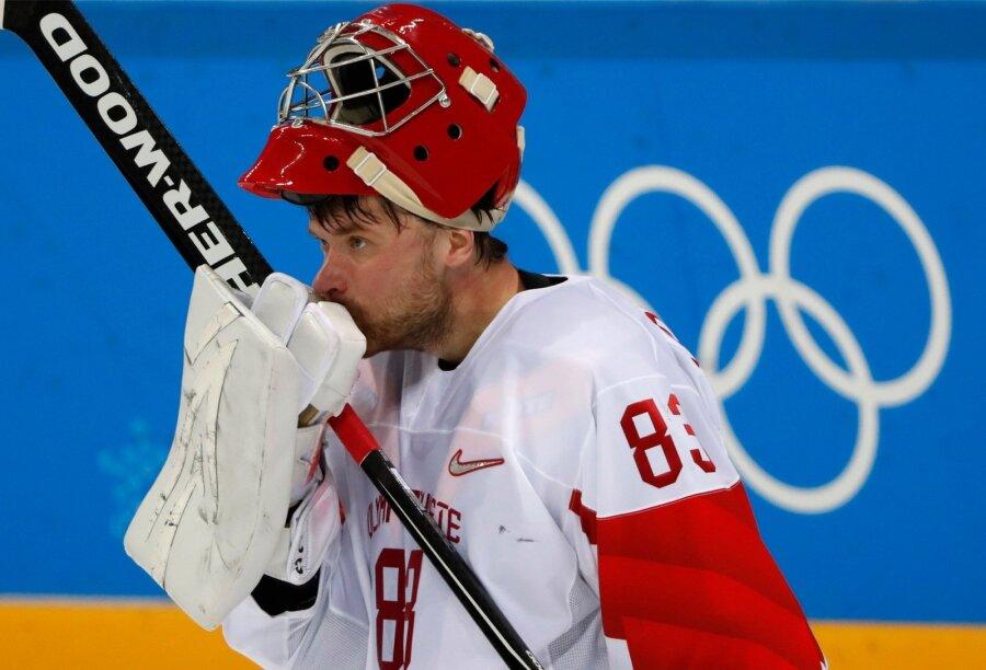 Хоккеисты сборной США победили команду Словакии вматче Олимпиады