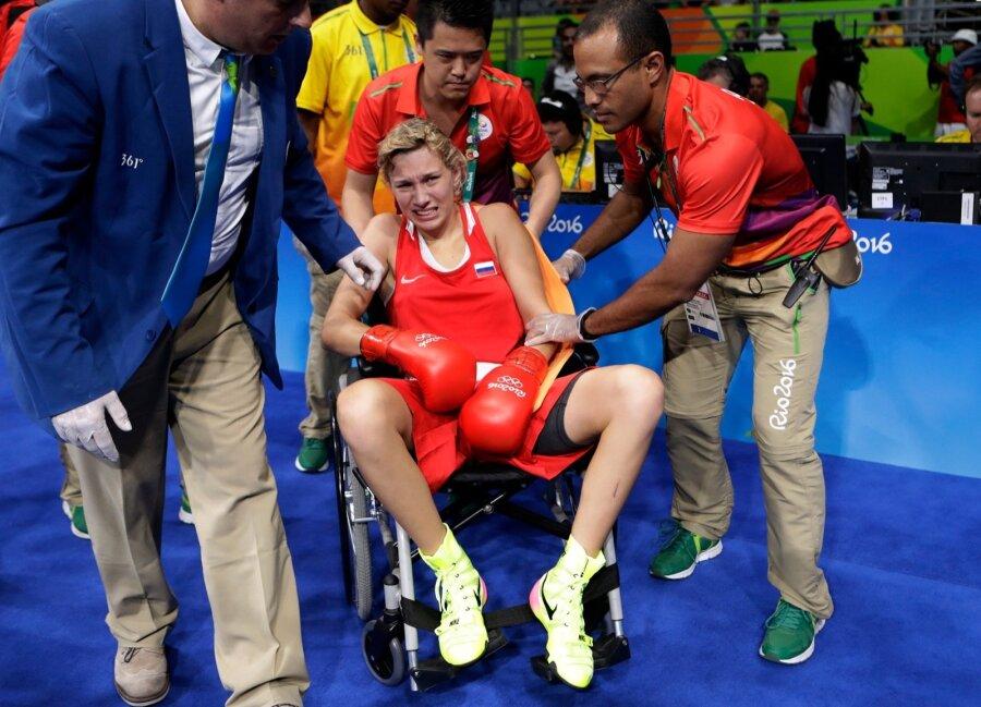 Анастасия Белякова получила тяжелую травму изавоевала бронзовую медаль— Олимпиада вРио