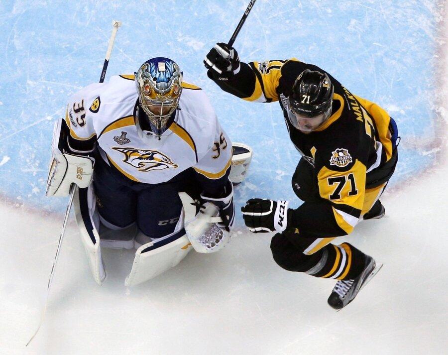 НХЛ: Питтсбург разгромил Нэшвилл впятом матче серии