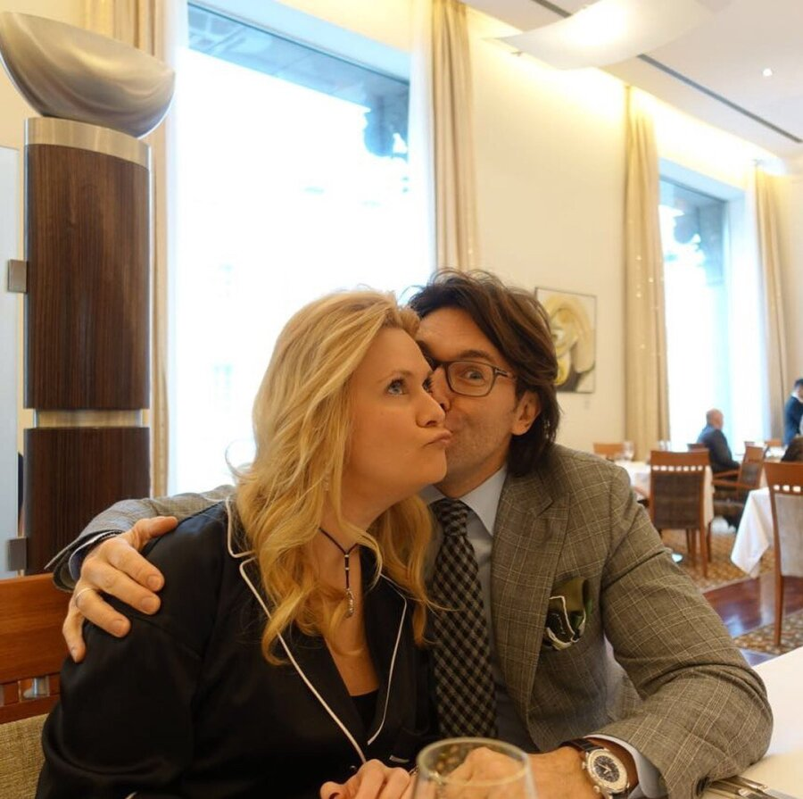 Andrei Malakhov for the first time showed a photo of his wife and son in a wheelchair 18.03.2018 18