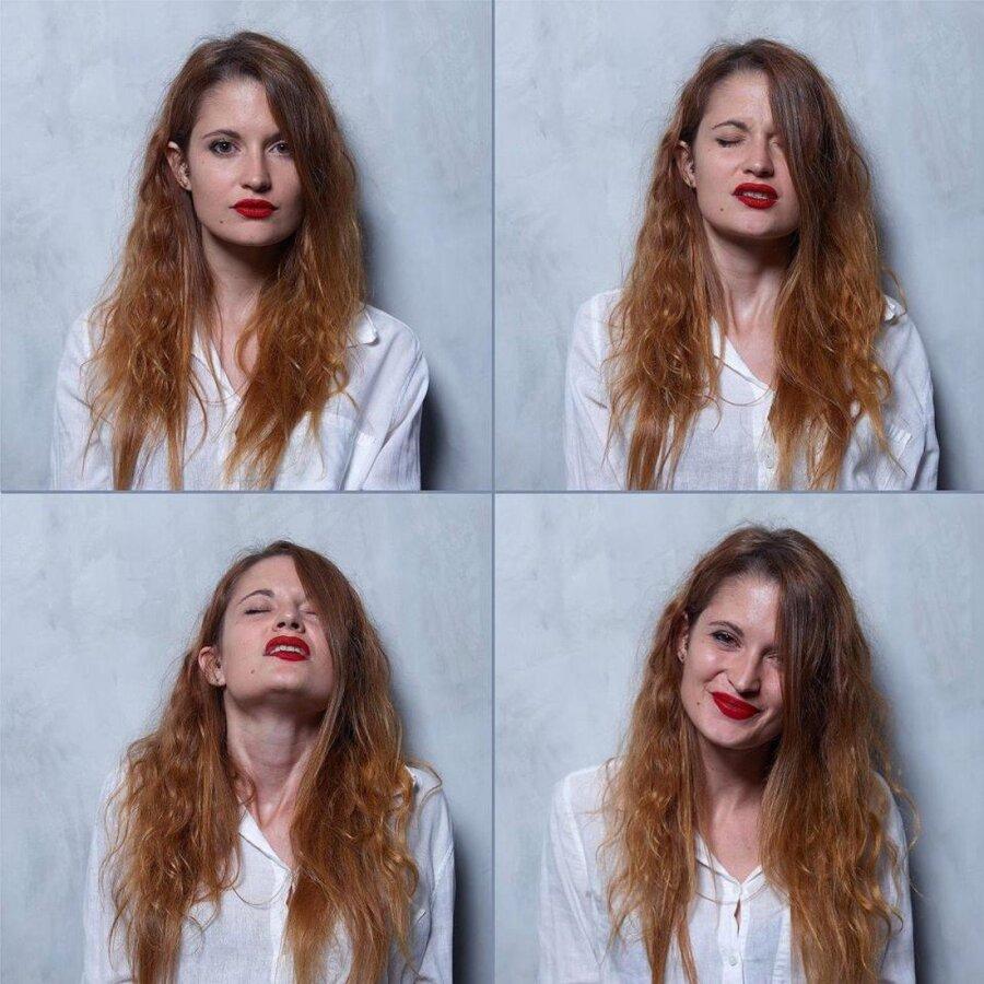 Бразильский фотограф продемонстрировал, как выглядят женщины до, вовремя ипосле оргазма