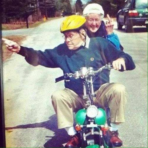 FOTO | Vanaema ja vanaisa kui lapselapsed koju lähevad