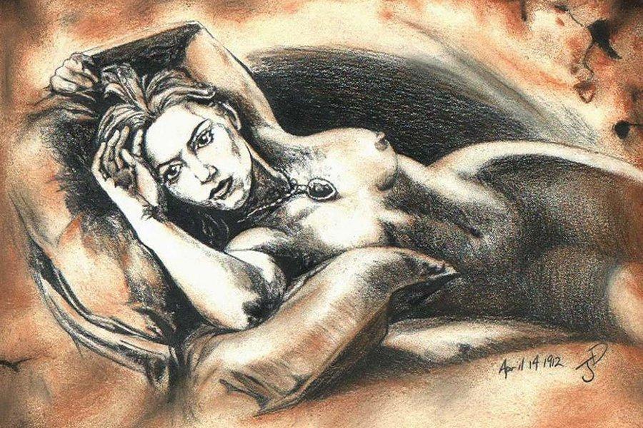 голая девушка с титаника картинки