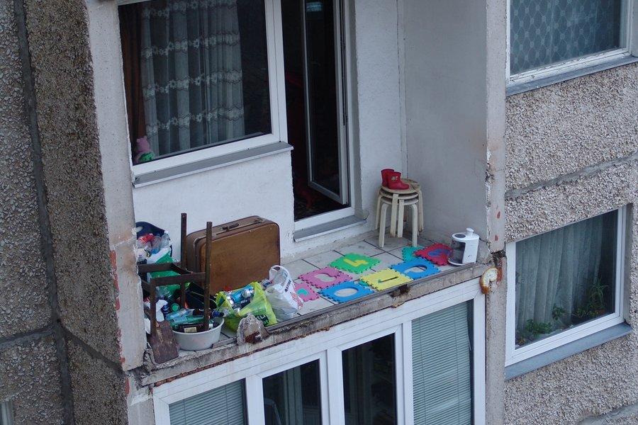 Жилые балконы.
