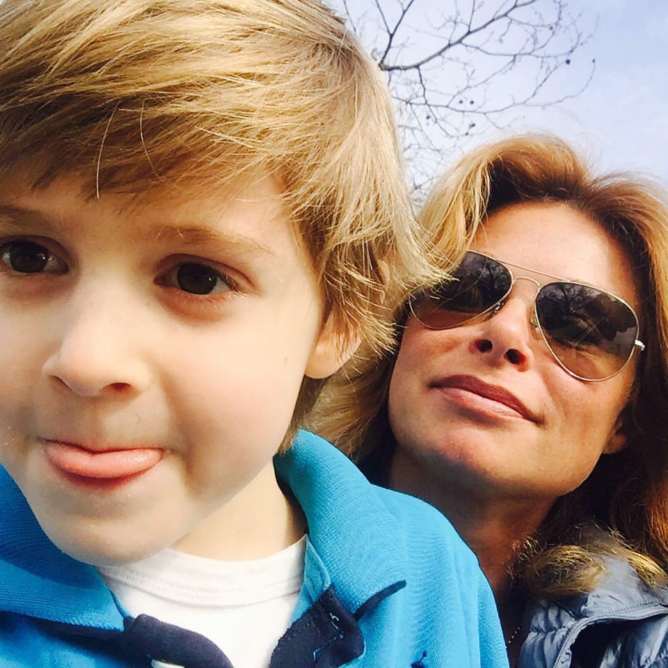 С сыном Габи. Фото из личного архива