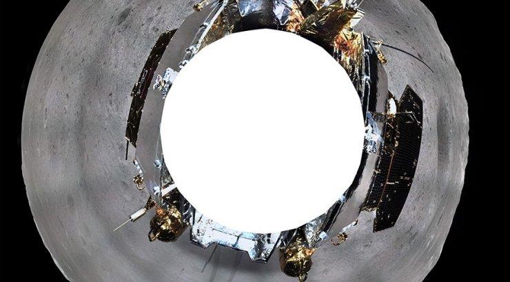 FOTOD | Hiina sond saatis panoraamülesvõtted Kuu tagaküljest