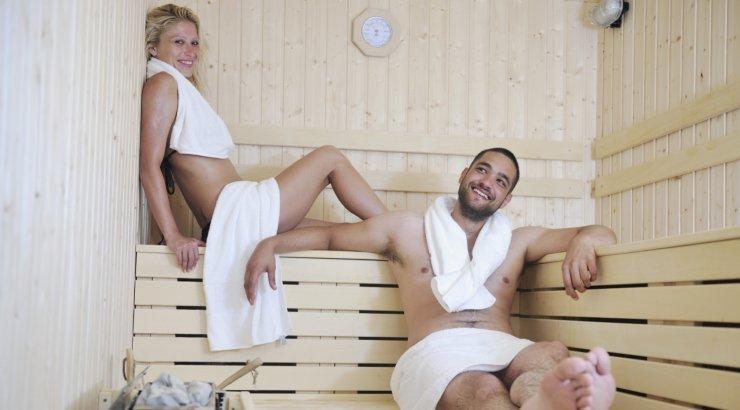 с мужем в бане фото