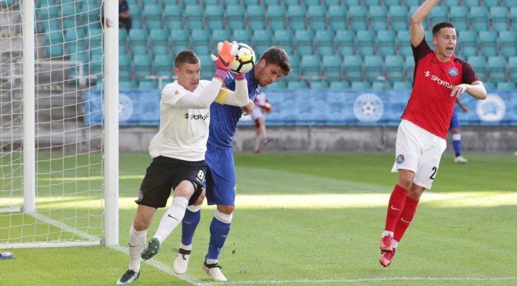 c91812bf5e5 Viieaastase pausi järel eurosarjas kaasa teinud Narva Transi  jalgpallimeeskond piirdus rahvusvahelisel areenil vaid kahe mänguga.